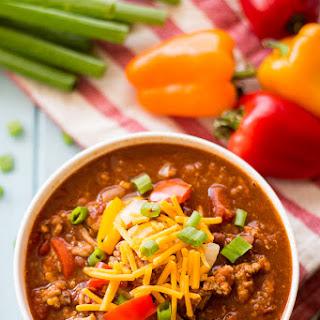 Slow Cooker Southwest Quinoa Chili