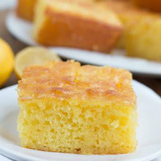 Lemon Jello Cake.