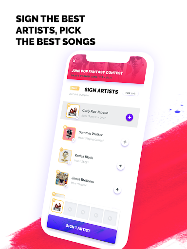 FanLabel - Daily Music Contests screenshots 9