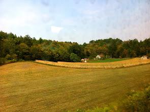 Photo: Train ride from Zagreb, Croatia to Sarajevo.