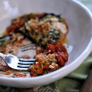 Simple Sicilian Eggplant Involtini.