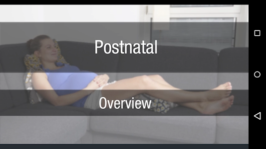 Postnatal Trainer screenshot 2
