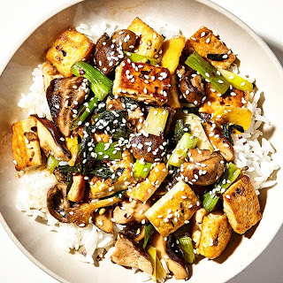 Tofu and Mushroom Stir-Fry Recipe
