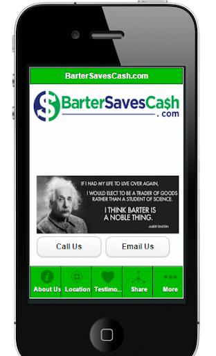 Barter Saves Cash