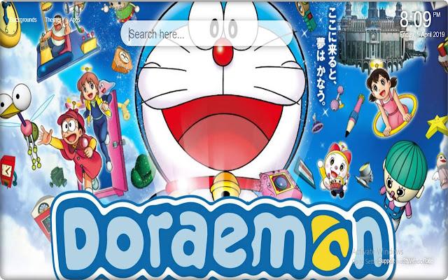 Doraemon Backgrounds New Tab