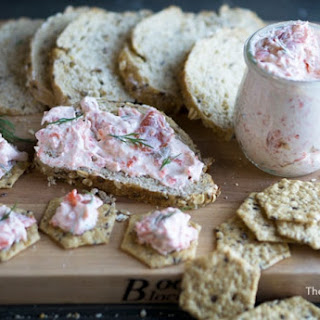 Smoked Salmon Spread with Greek Yogurt and Fresh Dill.