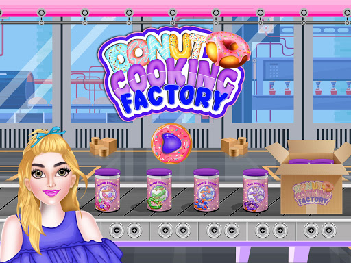 Donuts Cooking Factory: Baking Dessert in Kitchen android2mod screenshots 1