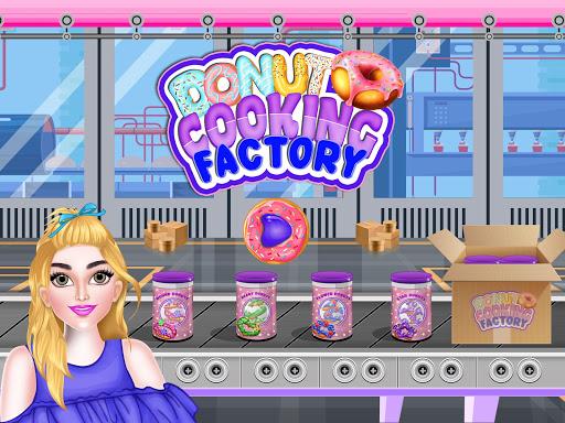 Donuts Cooking Factory: Baking Dessert in Kitchen  screenshots 1