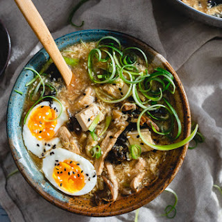 Hot and Sour Egg Drop Soup Recipe