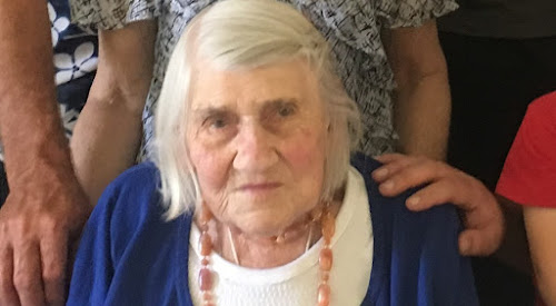 Rose McNamara at her 103rd birthday in November 2016.