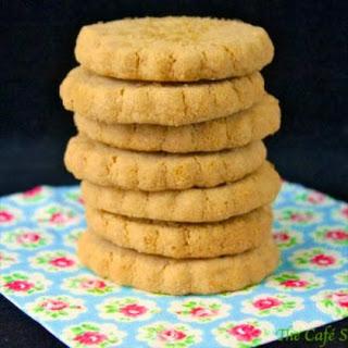 Biscoff Shortbread Cookies