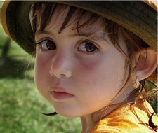 Золоті сережки для дітей, фото-1