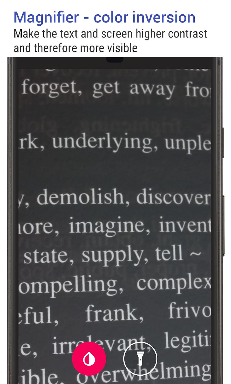 Big Font (change font size & display size) Screenshot 3