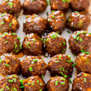 Sweet and Spicy Korean Meatballs Recipe