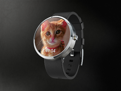 Cute Cats Watchface screenshot 1
