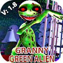 green alien Granny V2: Horror Scary MOD icon
