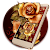 Golden Red Luxury Rose Theme file APK for Gaming PC/PS3/PS4 Smart TV