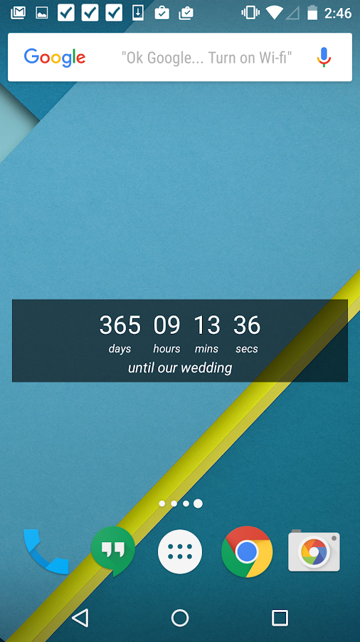 Wedding Countdown Widget- screenshot