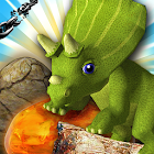 Jurassic Free Fall Unlocked - Match 3 icon