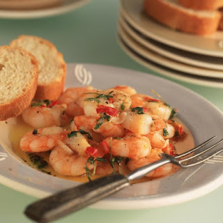 Garlic and Chili Shrimp.