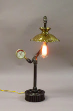 Photo: steampunk piped lamp