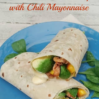 Mayonnaise Chicken Wraps Recipes.