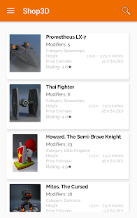 Shop 3D screenshot
