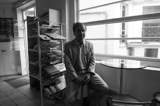 Photo: Kendal Nezan, president of the Kurdish Institute in Paris