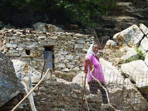 Photo: Η γυναίκα του βοσκού στο Παλαμηδό.