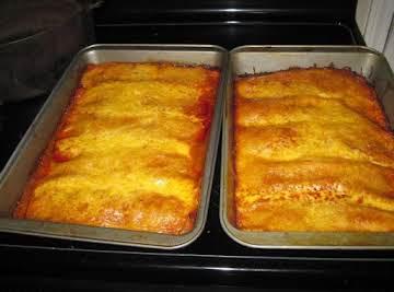 Shredded Pork Enchiladas