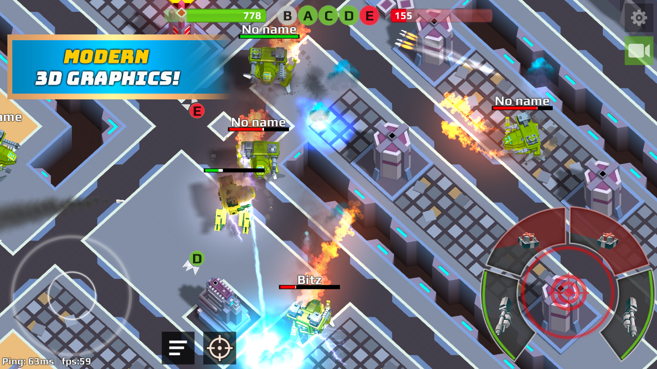 Robots.io- screenshot