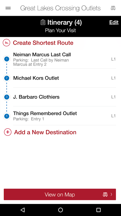 Great Lakes Crossing Outlets- screenshot