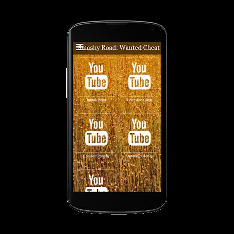 android Smashy Road Wanted Cheats Free Screenshot 0