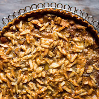 Apple Tart With Almonds in a Gluten-Free Shell
