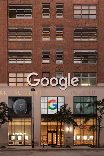 Exterior view of the Google Store on 9th Avenue in New York
