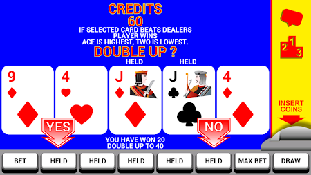 Video Poker with Double Up 8.2 screenshot 227143
