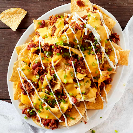Bean & Cheese Nachos