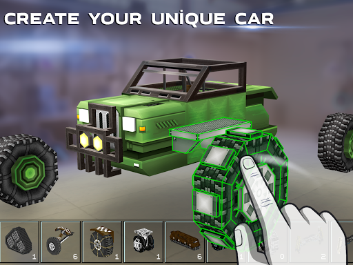 Blocky Cars - Online Shooting Games cheat screenshots 2