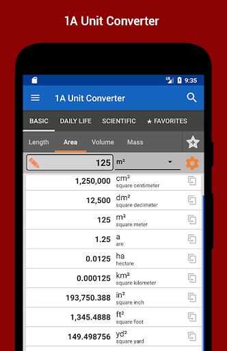 1A Unit Converter 2.0.13 screenshots 1