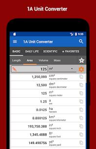 1A Unit Converter 2.0.17 APK + MOD Download 1