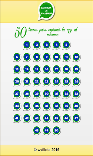 Cincuenta trucos para WhatsApp