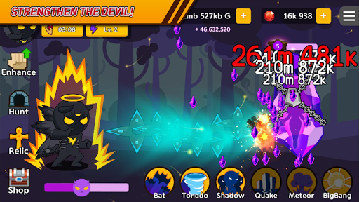 GrowDevil (Idle, Clicker game) 1.5.4 screenshots 3