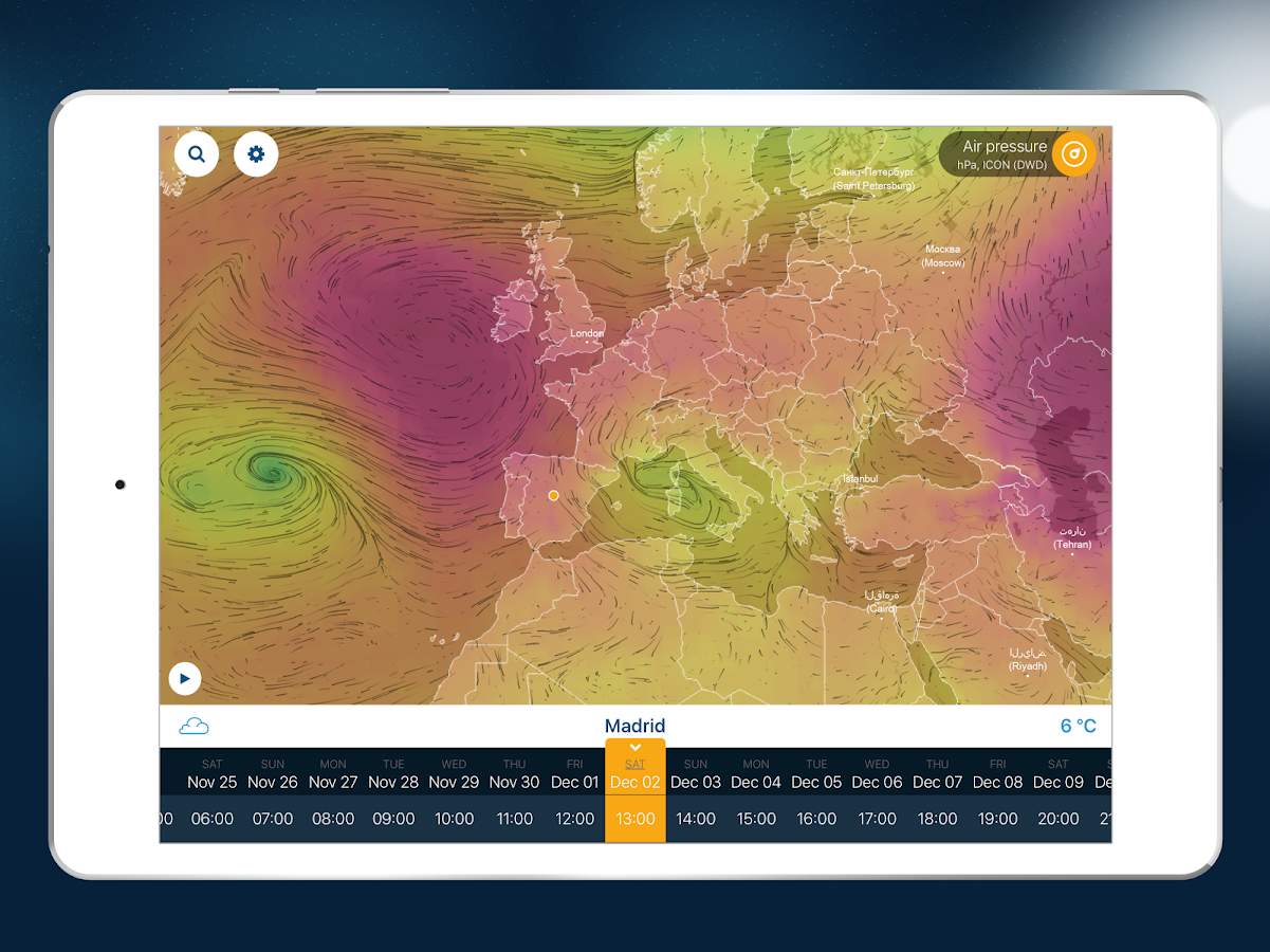 Ventusky Weather Maps  Android Apps on Google Play