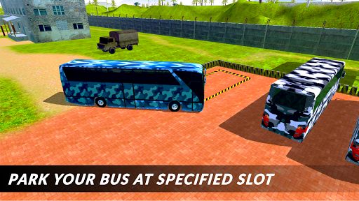 Off-road Army Bus: Army Driver Bus Simulator 1.0 screenshots 4