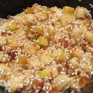 #15. Apple Breakfast Risotto