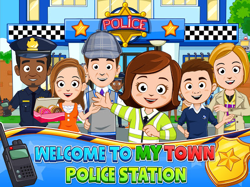 My Town : Police Station Pretend games for Kids - screenshot