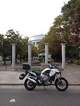 Photo: 出発記録、いつものイナバヂ公園。