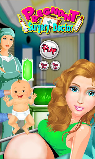 Pregnant Mommy Surgery Doctor