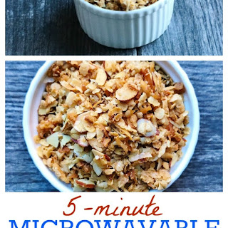 5-Minute Microwavable Granola