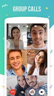Screenshots of icq video calls & chat for iPhone
